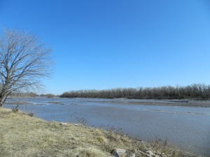 The Loup River, just off Highway 81