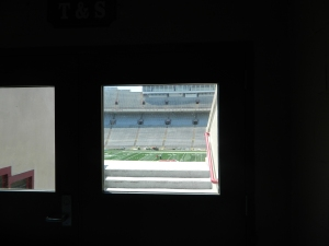 My Secret View of the Badgers' Home Turf
