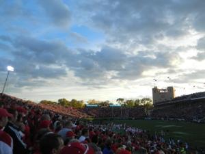 Memorial Stadium East?
