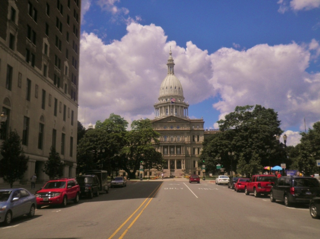Michigan State Capitol in Lansing