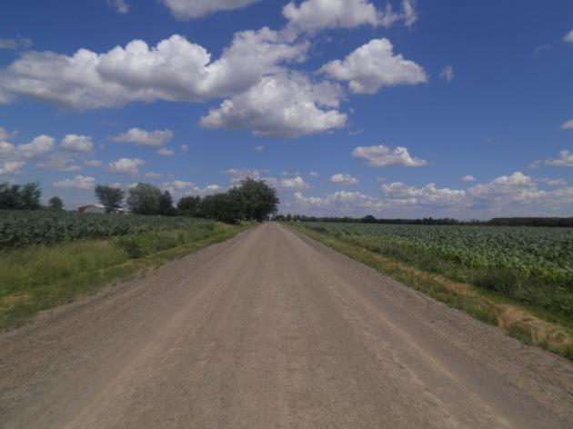 Open Road West of Flint