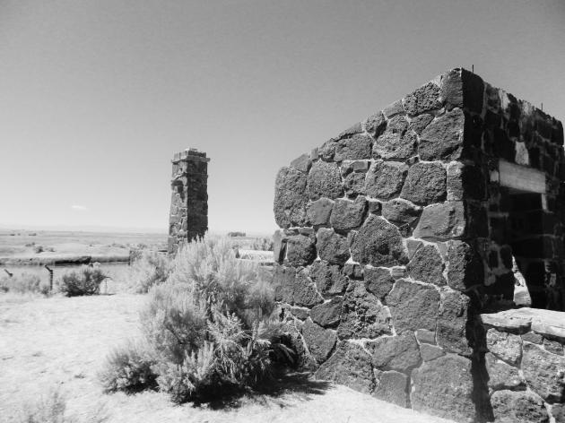 Old Guardhouse at Minidoka