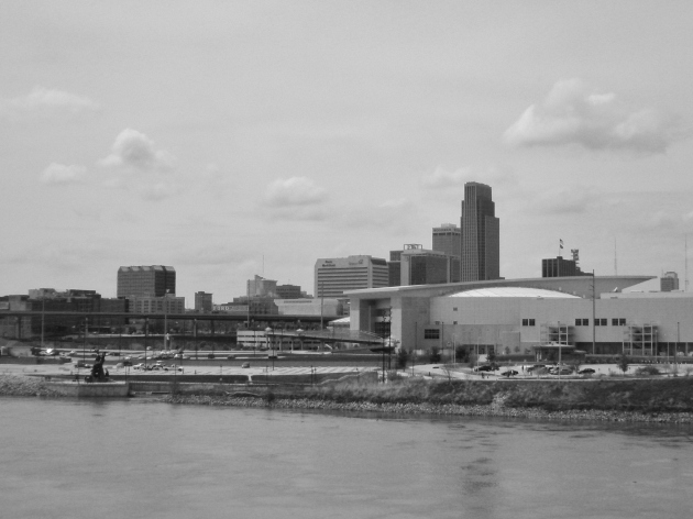 Omaha Skyline from the Bob Kerry